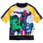 ショッピングラッシュ ラッシュガード 水着 子供 キッズ 男の子 アベンジャーズ ヒーロー Marvel キャラクター