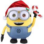サンタ ミニオン ボブ ぬいぐるみ 人形 おもちゃ クリスマス ギフト プレゼント 海外