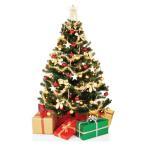 クリスマスツリー 等身大 パネル クリスマス 飾り インテリア デコレーション