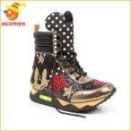 ミッキー マウス ハイトップ スニーカー 靴 イレギュラー チョイス x ディズニー コラボ IRREGULAR CHOICE