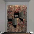 ハロウィン グッズ 壁飾り 血まみれ 遺体安置所 不気味 バナー ポスター 壁紙 アメリカン アメリカ 雑貨 店舗装飾 装飾