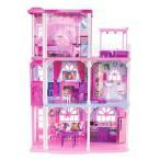 バービー ドリーム ハウス 3階建て 人形 家 おもちゃ クリスマス プレゼント 誕生日 ギフト ドールハウス