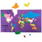 世界地図 パズル 子供 マップ  地理 学習 知育玩具