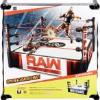WWE フィギュアサイズ 25cm リング スーパースター フレクシブルマット アクション プロレス レッド