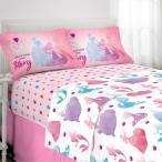 ディズニープリンセス グッズ シーツセット 寝具 子供部屋 アリエル ラプンツェル シンデレラ ベル ピンク お姫様