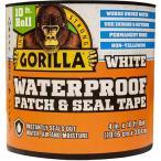 プール 家庭用 修理キット Gorilla ガムテープ 防水 パッチ&シール テープ 10cmx304cm ホワイト 白