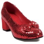 靴 子供  オズの魔法使い ドロシー ハロウィン コスプレ 赤い靴 あすつく