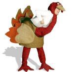ショッピングハロウィン ハロウィン プレゼント 七面鳥コスチュームコスプレ衣装 大人用コスチューム パーティー 年賀状