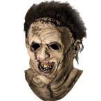 テキサス・チェーンソー レザーフェイス マスク 悪魔のいけにえ  洋画 ホラー ハロウィン お化け 怪物 モンスター ゾンビ コスプレ テキサスチェーンソー 仮面