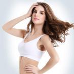 ブラジャーヨガ服女性用スポーツブラジャー無鋼輪通気速乾タイトヨガブラジャー2つの服 (XL, ブラック)