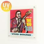 レコード 壁掛け 飾る 額縁 フレーム 収納ケース LP UVカット おしゃれ アクリル『レコード額ボックスインタイプ』
