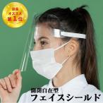 フェイスシールド フェイスガード フェースシールド カバー マスク 透明 保護 大人〜子供まで クリア素材 開閉式 可動式 開閉可