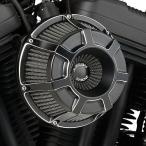 ハーレー用 ARLEN NESS(アレンネス) INVERTEDエアクリーナー BEVELLED, BLACK