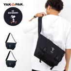 ショッピングメッセンジャーバッグ ショルダーバッグ YAKPAK ヤックパック メッセンジャーバッグ メンズ レディース スヌーピー 斜めがけ ブランド A4