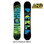 2014 GNU グヌー スノーボード SNOWBOARD PICKLE PBTX 150