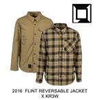 2016 L1 エルワン ジャケット FLINT REVERSIBLE JACKET X KR3W BRUSH MILITARY PLAID