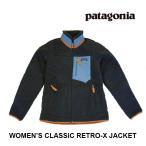 PATAGONIA パタゴニア クラシック レトロX レディース ジャケット WOMEN'S CLASSIC RETRO-X JACKET SMDB SMOLDER BLUE 23074