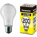 パナソニック 白熱電球 LW100V200W E26口金 200W形 シリカ電球 25個入