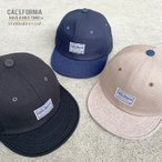《CALIFORNIA HAVE A NICE TIME !》カリフォルニアハヴァナイスタイム STANDARD S.V.CAP (KKC-286) ショートバイザーキャップ メンズ レディース ブランド