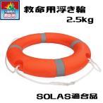救命用浮き輪外径71cm/水路、沼、池、漁港の救助用設置浮き輪/救命浮環