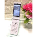 【新品同様】SIMロック解除済☆ シャープdocomo AQUOS ケータイ SH-06G ホワイト  A1866