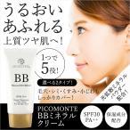 ピコモンテ BB ミネラル BBクリーム SPF50+ PA+++ ノンケミカル bbクリーム 保湿成分配合 光拡散ミネラルパウダー配合 メール便 送料無料 日本製