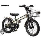 子供用自転車 HUMMER KID'S TANK3.0-SE (カモフラージュグリーン) ハマー キ...