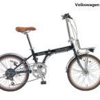 折りたたみ自転車 Volkswagen (フォルクスワーゲン)VW-206AT Beetle / B...