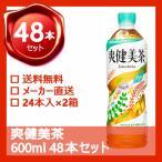 (安心のコカ・コーラから発送)  爽健美茶 すっきりブレンド  600ml ペットボトル 48本 (2ケース) お茶