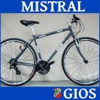 スポーツ走行の爽快感を味わえるシンプルなクロスバイク。