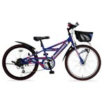 American Eagle オートライト ジュニアスポーツサイクル CTB-DX BOISE ブルー 外装6段変速 22型 子供用自転車
