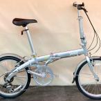 オーアンドエム ヤー ピックアップ (シルバー)  O&M Yeah Pick Up PCK060K 折りたたみ自転車 20インチ フォールディングバイク