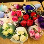 [2点セット]ソープフラワー 花束 母の日 2021 プレゼント 女性 花 ギフト ボックス 造花 フラワー 石鹸