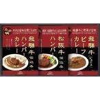 ギフト お返し 内祝い 麺類 飛騨高山ファクトリー 松阪牛・飛騨牛仕込みハンバーグ&カレー詰合せ HBK-22 送料無料