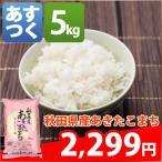 ショッピング米 米 5kg あきたこまち 秋田県産 29年産 1等米 白米か玄米 お米 送料無料 北海道・沖縄・一部を除く