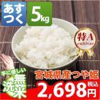 新米 米 つや姫 5kg お米 29年産 宮城県 無洗米 つや姫 5kg 送料無料 北海道・沖縄・一部を除く