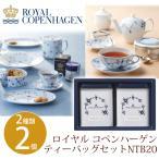ギフト 内祝い お返し お菓子 コーヒー・紅茶 ロイヤル コペンハーゲン ティーバッグセット NTB20 送料無