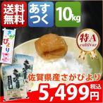 ショッピング米 米 お米 10kg 佐賀県 1等米 特A 白米か玄米か分搗き さがびより 10kg 平成28年産 送料無料 北海道・沖縄・一部地域を除く