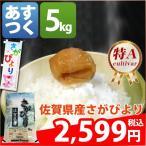 ショッピング米 米 お米 5kg 佐賀県 1等米 特A 白米か玄米か分搗き さがびより 5kg 平成28年産 送料無料 北海道・沖縄・一部地域を除く