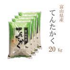 米 20kg 送料無料 白米 てんたかく 5kg×4袋 富山県産 令和元年産 1等米 お米 20キロ 食品 北海道・沖縄は追加送料