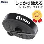 トレーニングチューブ フィットネス チューブ エクササイズ ストレッチ 筋トレ ゴム バンド ブラック レギュラー LICLI