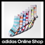 【全品送料無料中!】【公式】adidas アディダス SC 7足セット ボーダーレギュラーソックス[靴下]