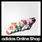 【全品送料無料中!】【公式】adidas アディダス SC 7足セット カラーブロックアンクルソックス[靴下]