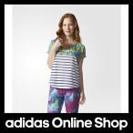 【全品送料無料中!】【公式】adidas アディダス STR アマゾンボーダーTシャツ レディース