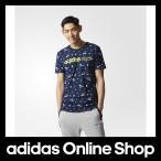 アディダス トップス 半袖 adidas HM BC 飛び柄Tシャツ M