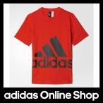 アディダス トップス 半袖 adidas Boys ESS スーパービッグロゴ Tシャツ