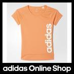 アディダス ウェア トップス 半袖 adidas Girls TRN CLIMALITE リニアロゴ Tシャツ ガール アパレル(オリジナルスは含まない)