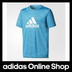 アディダス ウェア トップス 半袖 adidas Boys TRN エンボスロゴ グラフィック Tシャツ ボーイ アパレル(オリジナルス、サッカー、野球などスポーツカテゴリー