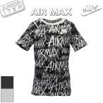 ショッピングair ナイキ Tシャツ ジュニア 夏用 NIKE 半袖 総柄 グラフィック 923667 AIR MAX エアマックス