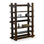 北欧100デザインシェルフ 天然木カントリー調デザイン家具